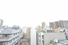 ダイアパレス麻布十番 5.0帖のベッドルームの眺望