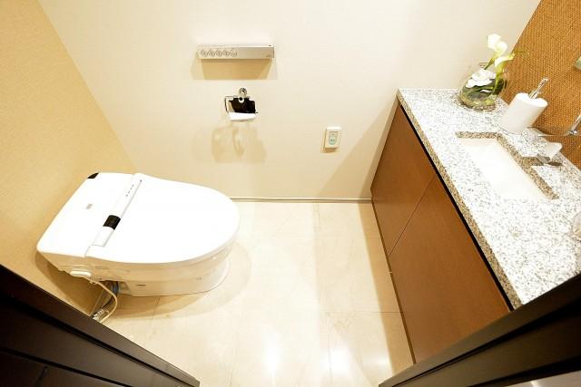 赤坂タワーレジデンス トイレ