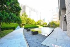 赤坂タワーレジデンス 庭