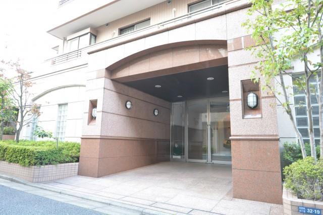 高田馬場パークハウス弐番館 エントランス