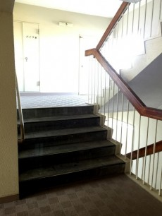 給田南住宅 階段