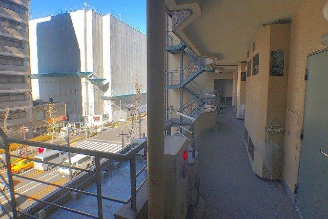 シティハウス西大久保 外廊下