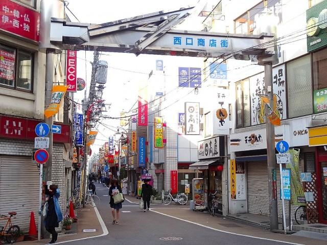 卓巳コーポ 西口商店街