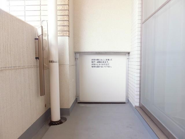 センチュリープラチナマンション大井町 バルコニー