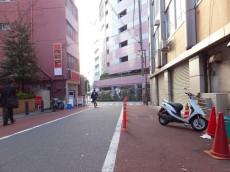 センチュリープラチナマンション大井町 前面道路