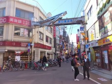 セザール学芸大学 西口商店街