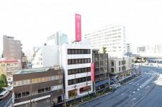 朝日江戸川橋マンション 5.9帖洋室の眺望