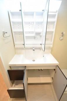 朝日プラザ北新宿 サニタリールーム 洗面台