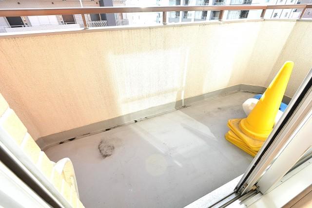 朝日江戸川橋マンション 4.0帖洋室のバルコニー