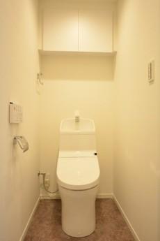 東カングランドマンション池袋キャッスル ウォシュレット付きトイレ