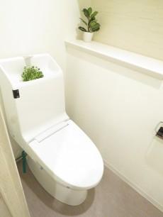 クレッセント麻布Ⅱ ウォシュレット付きトイレ