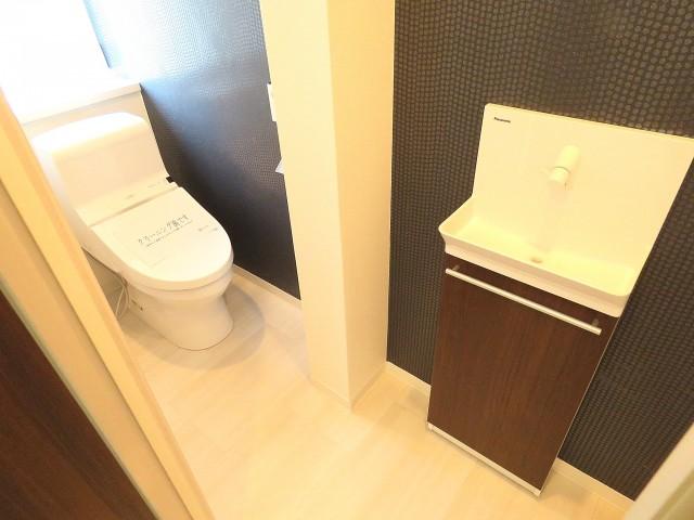 Gフラット 手洗い場付きのトイレ