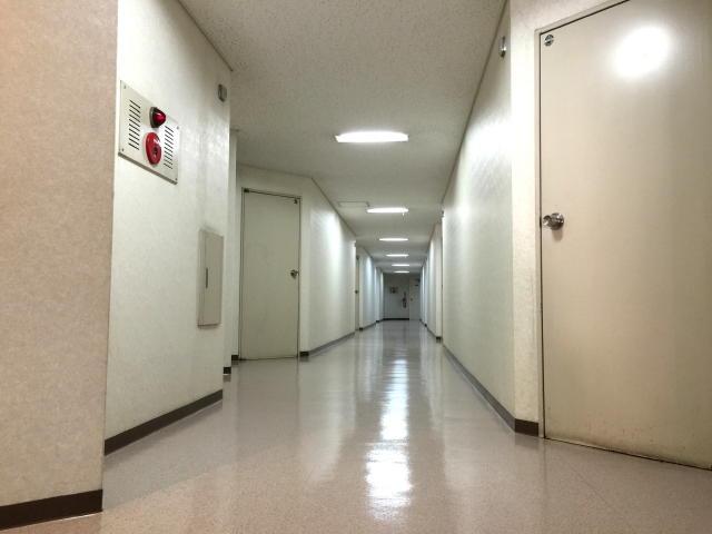 イトーピア五反田マンション 内廊下