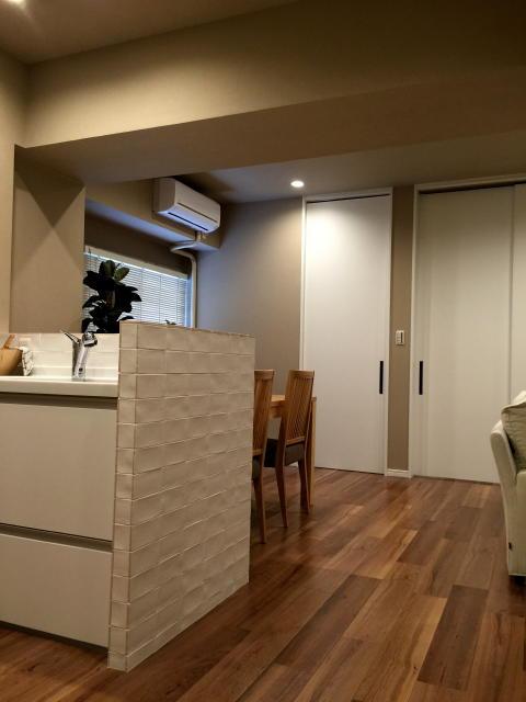イトーピア五反田マンション リビングダイニングキッチン