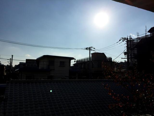 大京町サンハイツ 眺望