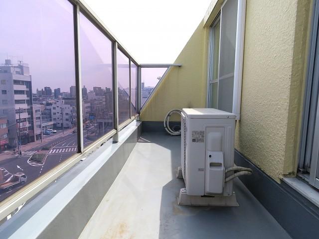 ユニー千石 7階バルコニー