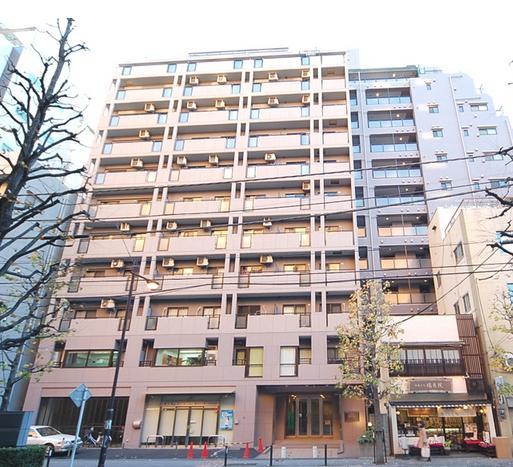 ライオンズマンション飯田橋駅前 外観