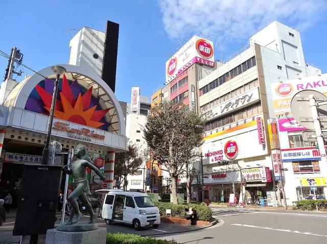 東武ハイライン西蒲田 蒲田駅西口周辺