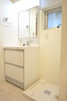 ルミネ日本橋 洗面化粧台と洗濯機置場