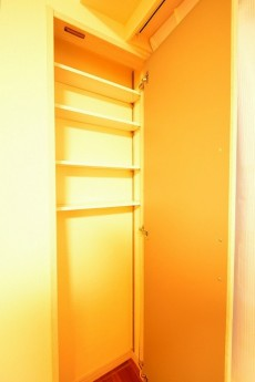 原宿第8宮庭マンション 8.8帖のベッドルーム収納
