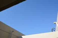 サンハイツ北新宿 バルコニーから上を見あげる