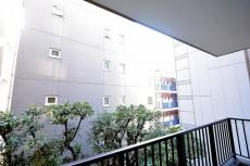 ドミール南青山 9.1帖のベッドルーム バルコニー眺望