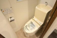 ドルメン五反田 ウォシュレット付きトイレ