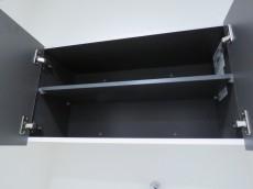 アドリーム東麻布 洗濯機置場上の吊戸棚