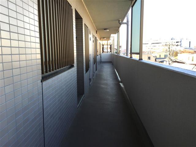 サンマンションアトレ新宿戸山 外廊下