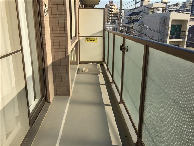 サンマンションアトレ新宿戸山 バルコニー
