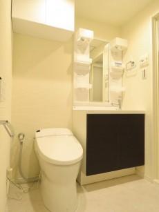 日興ロイヤルパレス元麻布 トイレと洗面化粧台