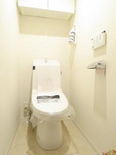 西蒲田スカイハイツ ウォシュレット付きトイレ