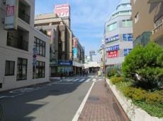 西蒲田スカイハイツ 建物まわりの道路
