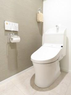 東池袋ハイツ弐番館 ウォシュレット付きトイレ