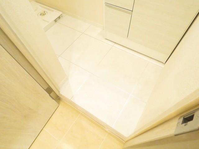 セザール白金 洗面室