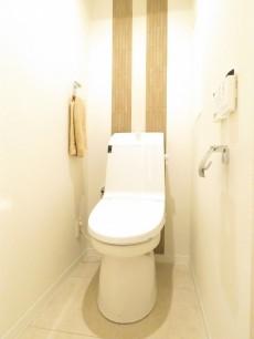 セザール白金 ウォシュレット付きトイレ