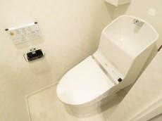 秀和南品川レジデンス ウォシュレット付きトイレ