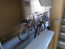 ブリリアンス五反田 駐輪スペース