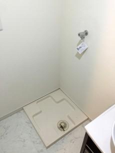 柿の木坂パレス 洗濯機置場