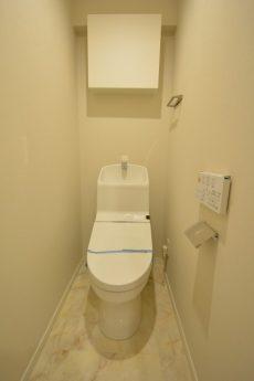 日興パレス南麻布第2 トイレ