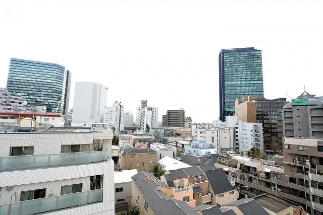 松見坂武蔵野マンション バルコニー眺望