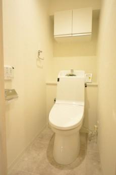 世田谷三宿サンハイツ ウォシュレット付きトイレ
