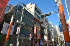 上馬フラワーホーム 商店街