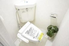 明大前フラワーマンション ウォシュレット付きトイレ
