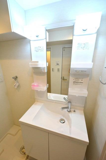 グリーンキャピタル神楽坂 洗面室