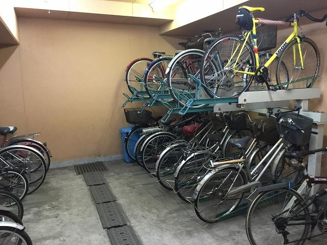 ダイアパレス目黒本町 駐輪場