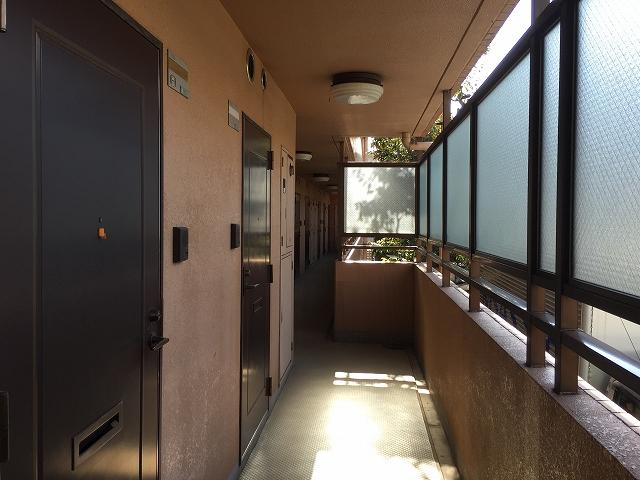 ダイアパレス目黒本町 廊下