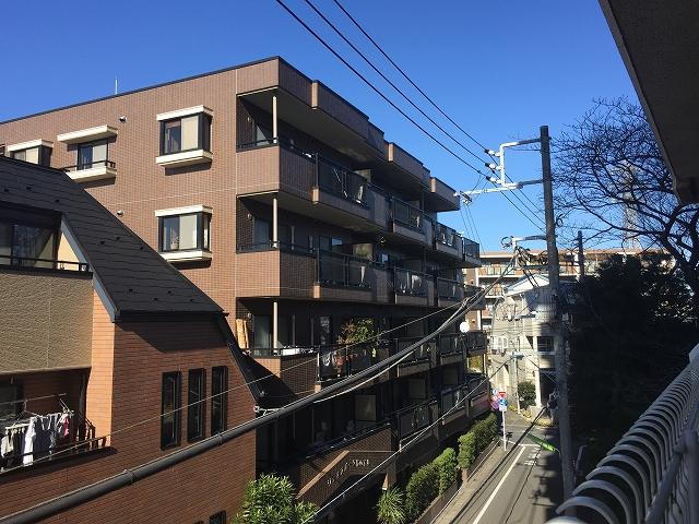 柿の木坂東豊エステート 眺望