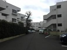 コートハウス上野毛 敷地内