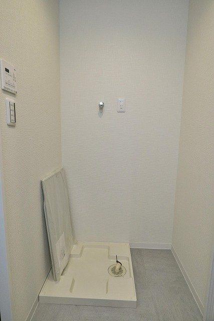 ライオンズマンション初台 洗濯機スペース